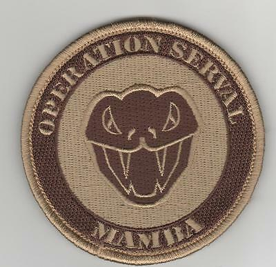 PATCH MIRAGE 2000 D - SERVAL MAMBA sable