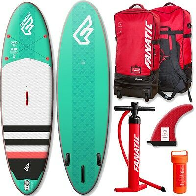 Fanatic DIAMOND AIR inflatable SUP 2017 9.8 Stand up Paddle Board