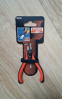NEW BAHCO Ergo 4131 Electricians Side Cutters Plier Flush 868055