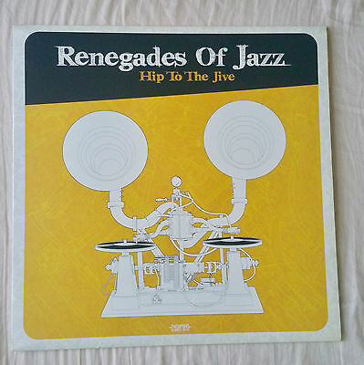 Renegades Of Jazz - Hip To The Jive - Brand New LTD - Wass Records ‎2011