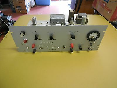 Tube Audio vintage Stereo Signal Multiplex Generator NAVY rack system 2 channel
