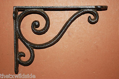 (6)Antique Look,corbel,shelf Brackets,baby Swirls,victorian Decor Home Decor,b-5