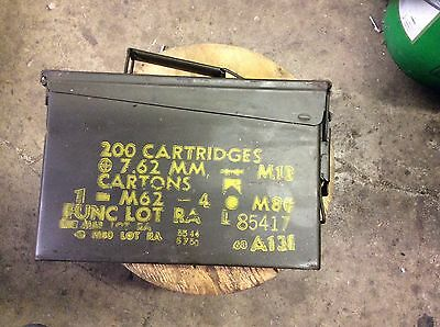 ammo cans- 30 CALIBER - GOOD CONDITION - 7.50 EA. OR ALL FOR $200