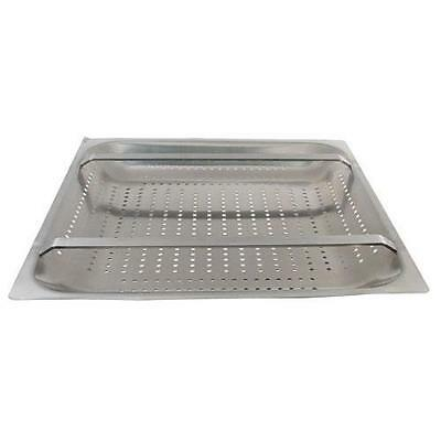 "Dish Table Sink Basket strainer 20"" x 20"" Rack Slide S/S 11517"