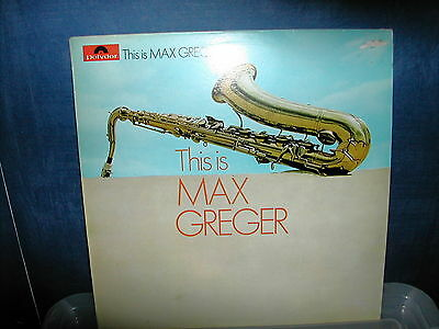 Max Greger-This max greger LP 1969