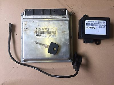Mercedes Sprinter W901-W905 Ecu Set A6111531091 Bosch 0281011746 Complete....