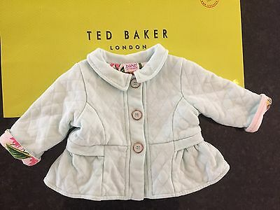 Baker by Ted Baker Baby Girls Jacket Size 0-3 Months