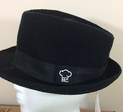 Cook Cool Fedora style Chef hat Restaurant Catering Uniform Food