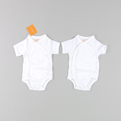 Pack dos bodies color Blanco marca Gocco 0 Meses