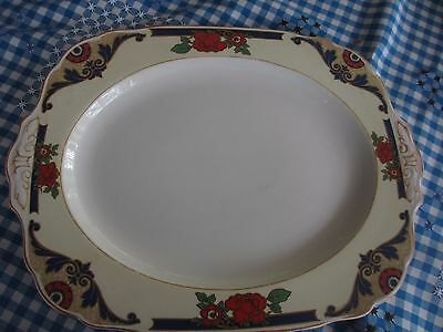 Antique Serving PLATTER  W.H GRINDLEY  ENGLAND lovely for a traditonal christmas