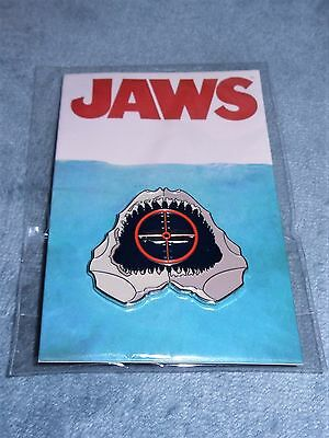 Jaws Pin, Smile.....Mondo Tees, Tom Whalen, New in Package