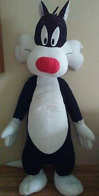 SYLVESTER Looney Tunes Plush/Stuffed HUGE/LARGE 28""