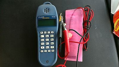 Fluke Networks  TS25D Test Set With leads