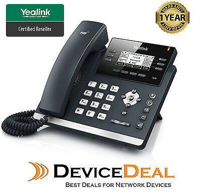 New Yealink SIP-T41S Ultra-elegant 6 Line IP Phone Opus Support New of SIP-T41P