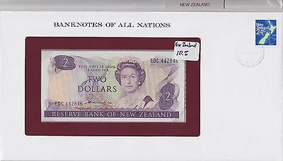 Reserve Bank New Zealand $2 ND UNC - Banknotes of all Nations