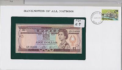 Banknotes of All Nations - Fiji 1980 1 Dollar UNC P76