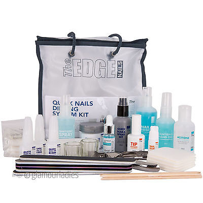 THE EDGE Nails Professionale Veloce Unghie A immersione Kit Sistema Acrilico per