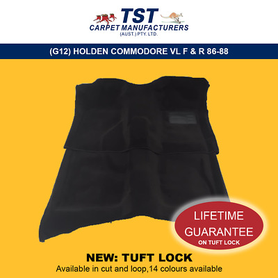 Moulded Car Carpets (G12) Holden Commodore Vl F & R 86-88