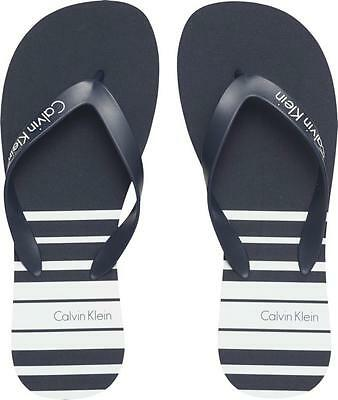 Infradito-Flip flops-Tапочка шлепанцы CALVIN KLEIN KM0KM00125 - blue shadow 709