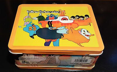The Beatles Yellow Submarine Metal Lunchbox With Thermos Sealed Brand New