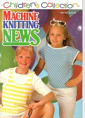 Children's Collection Of  Machine Knitting Patterns No. 4
