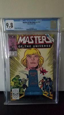 Masters of the Universe (1986 2nd Series Marvel/Star Comics) #13 CGC 9.8