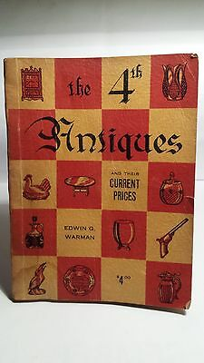 Warman's 4th Edition Antiques Price Guide..1956..Nice Condition..BUY $7.99