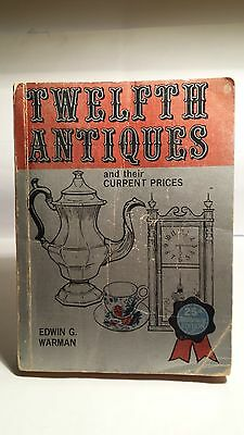 Warman's 12th Edition Antiques Price Guide..1974..Good Condition..BUY $3.99