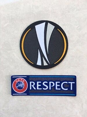 2017-2018 UEFA FIFA Europa League Respect Patch Badge Toppa Parche Remendo Pièce