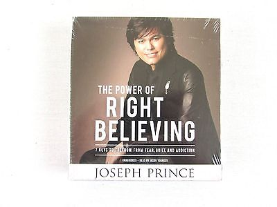 The Power Of Right Believing By Joseph Prince Unabridged Audio CD Set