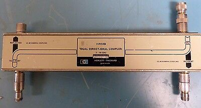 HP 11692D, 2 to 18 GHz, 20 dB, 50W, Type N - APC-7, Dual Directional Coupler