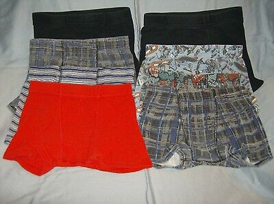used clean youth boys no-fly boxer briefs underwear 8 pairs size 6/8 Hanes brand