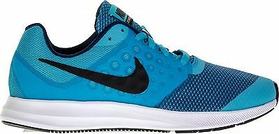 NEW Boys Nike Sneakers Downshifter 7 GS Kids Running Shoes Blue Size 4 5 6