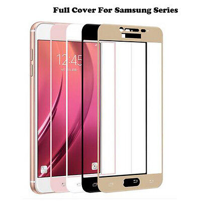 2.5D Full Cover Tempered Glass Screen Protector Film For Samsung Galaxy Phones