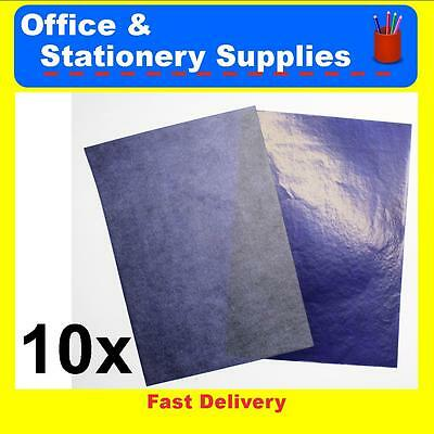 Deli A4 Carbon Paper Blue 10 Pack  39834