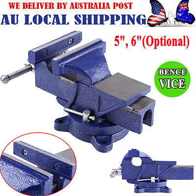 "Table Bench Vice Grip Clamp 4"" 5"" 6"" inch Heavy Duty Steel Mechanic Workshop"