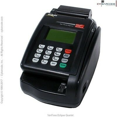 VeriFone Eclipse Quartet Check Reader