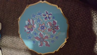 Enamel vintage compact by Stanton made in England