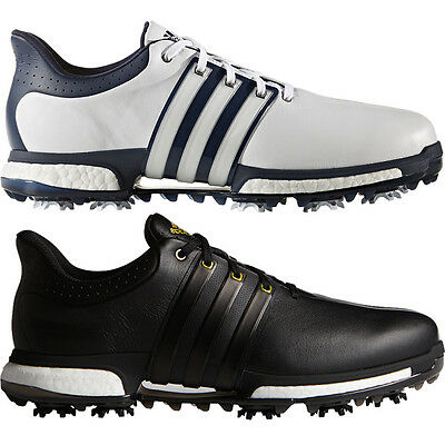 Adidas Golf Tour360 Boost Performance Mens Golf Leather Shoes