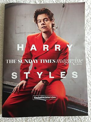 Harry Styles One Direction (1D) The Sunday Times Magazine May 2017 UK Edition