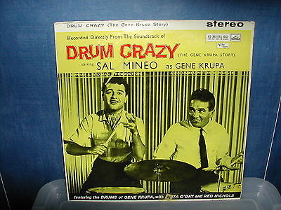 Drum Crazy the Gene Krupa story Soundtrack LP 1960