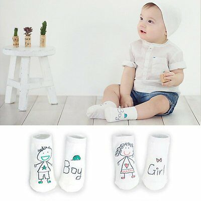 USA Fashion Baby Sock Boy Girls Cotton Socks NewBorn Infant Toddler Socks 0-4Y