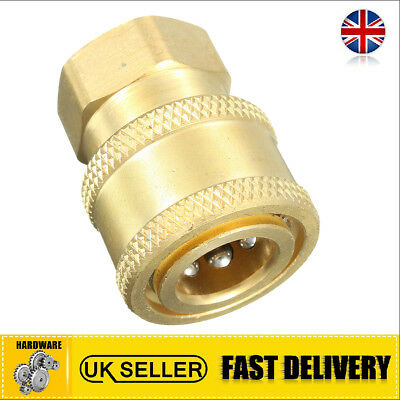 Pressure Washer 1/4'' Quick Release To BSP 1/4'' Female Outlet Adaptor Coupling