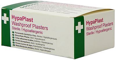 Safety First Aid D9010 Assorted Waterproof Plasters (Pack of 100)