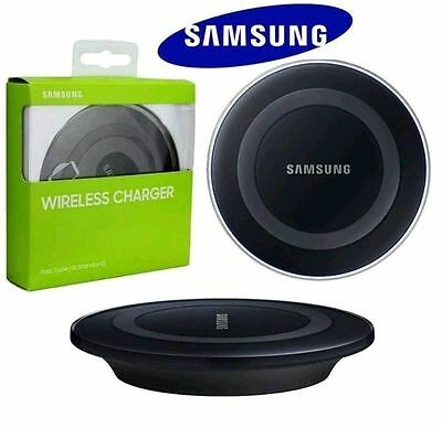 Genuine Samsung Galaxy S6, S6+ Edge QI Wireless Charger Charging Pad Plate-Black