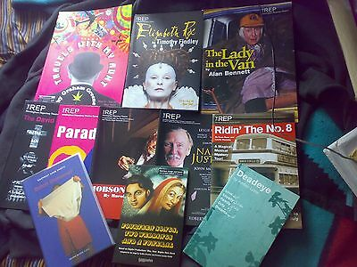 THEATRE SCRIPTS AND PROGRAMMES BUNDLE COLLECTORS ITEM inc the lady in the van