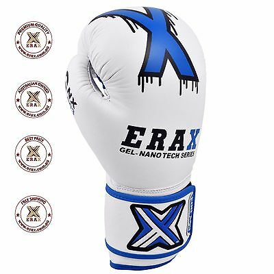 Boxing Gloves Training Gel Best Quality Sparring Mma Muay Thai Kick Au Postage