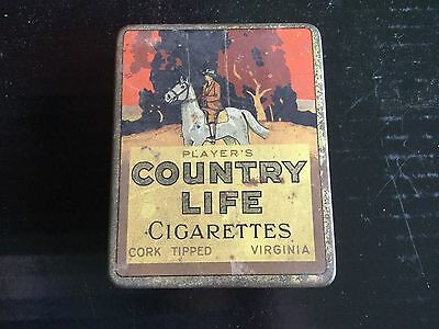 Player's Country Life  Tobacco Tin