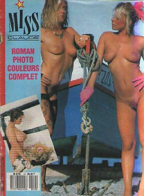 Revue Magazine Miss Claude : Roman Photo Couleurs Complet - EROTIQUE LEOPOLD II