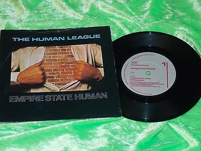"THE HUMAN LEAGUE : Empire state human - Original 1980 7"" single EX/NM"